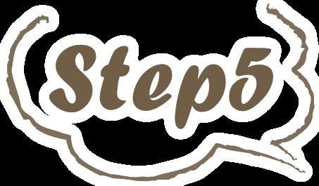 ステップ5